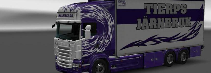 Skin Malmbergs Circle Frames for Scania RS RJL