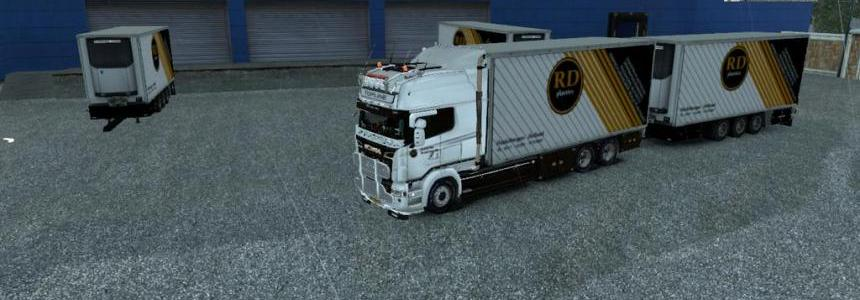 Skin RD Plastics for Scania RS RJL