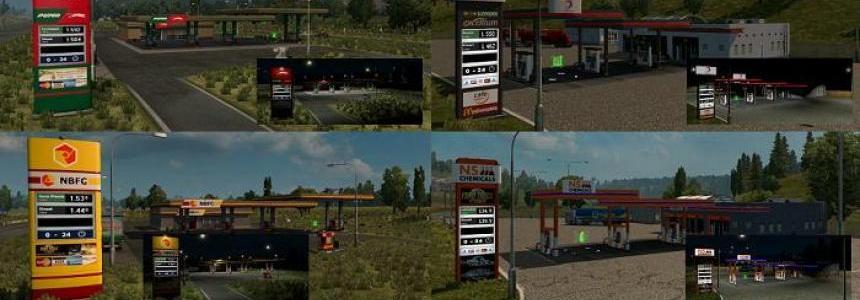 Skinpack – Gas Stations v1.0
