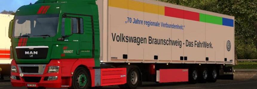 SKO forwarding Wandt Volkswagen v1.0