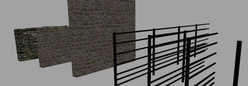 Stone wall and fence pack