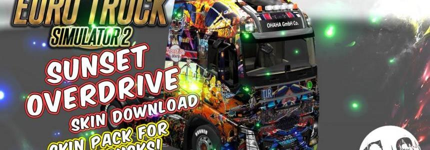 Sunset Overdrive Skin Pack for All Trucks