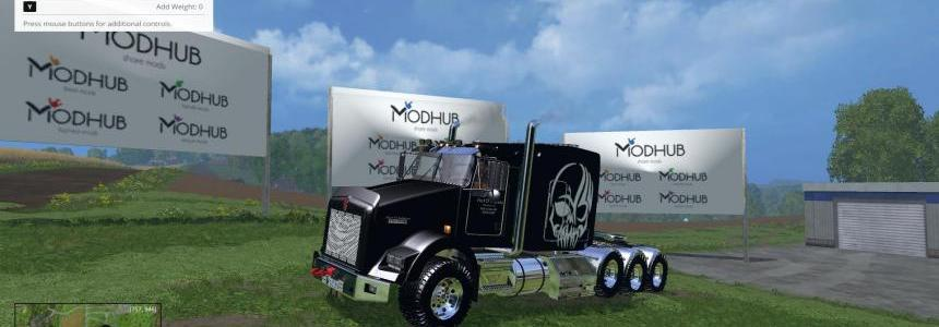 KW T800 TriAxle Sleeper V1.0
