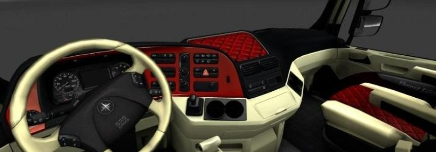 Three MB Actros interiors 1.22.x