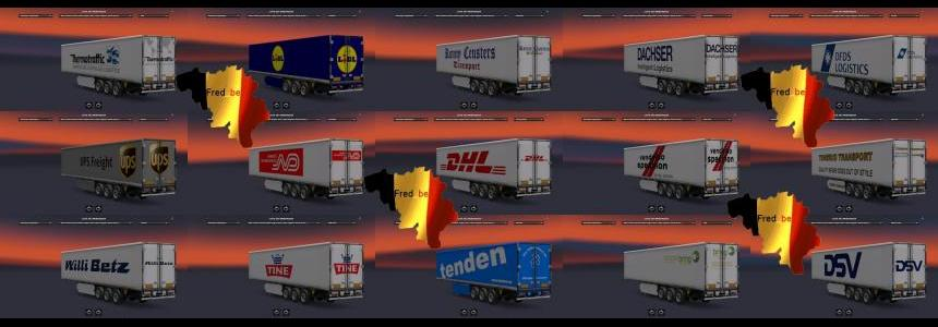 Trailer Pack Coolliner(Replaces) 1.22.x