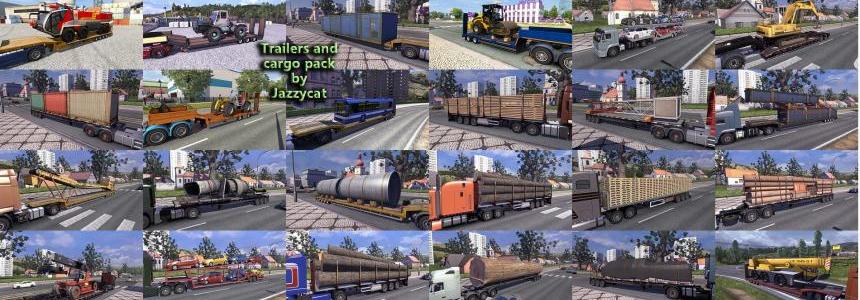Trailers and Cargo Pack by Jazzycat  v3.7