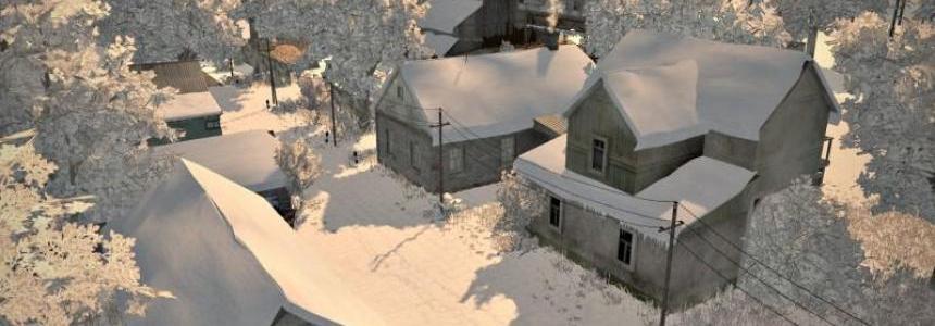 Typowa Polska Wies v3 – Snow map