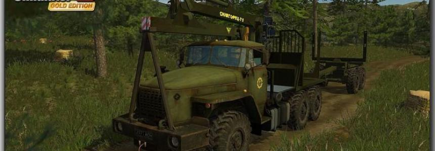 Ural 4320 Forestry Set v1.1