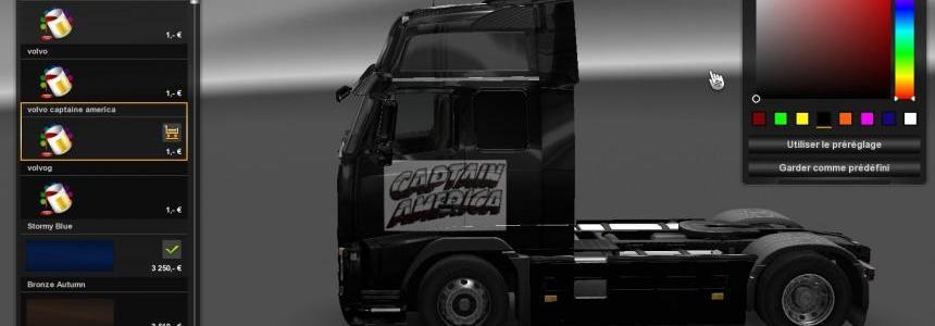Volvo captaine america