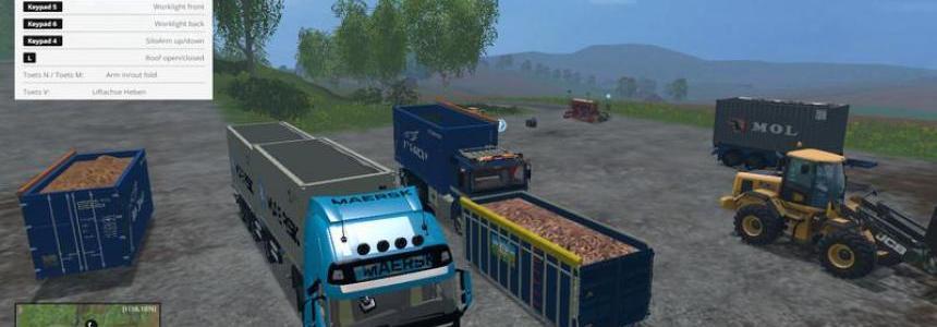 Volvo F12 HKL v1.0 multi container