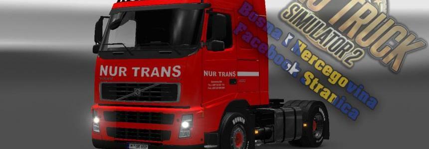 Volvo FH12 Nur Trans Red Skin