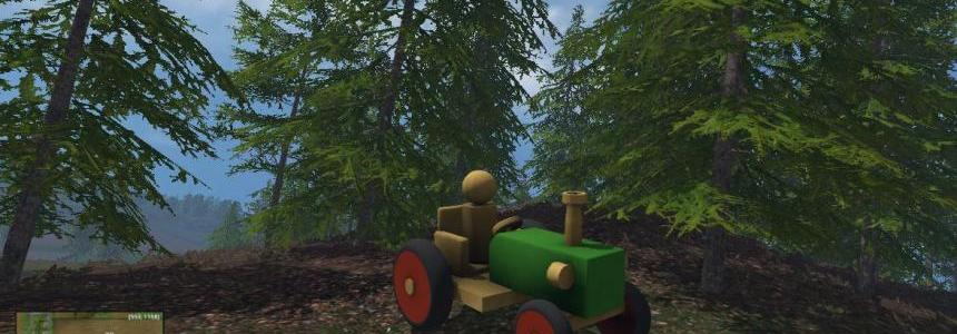 Wood Tractor For Noob Scorpiox V1.0