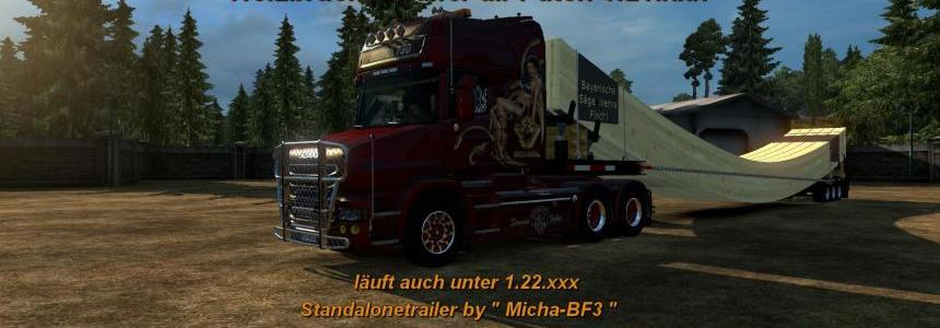Wooden Bridge Trailer 1.22.x