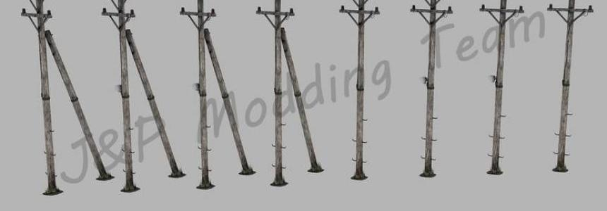 Wooden poles v1.0