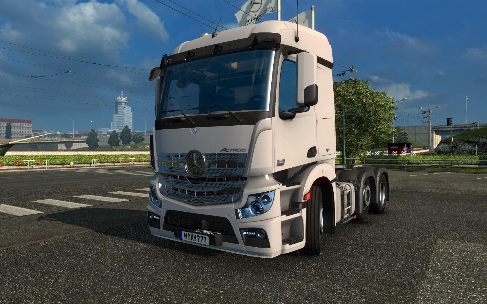 Mercedes actros mp4 for Mercedes benz astros