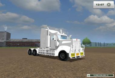 Kenworth t908 Custom White v1