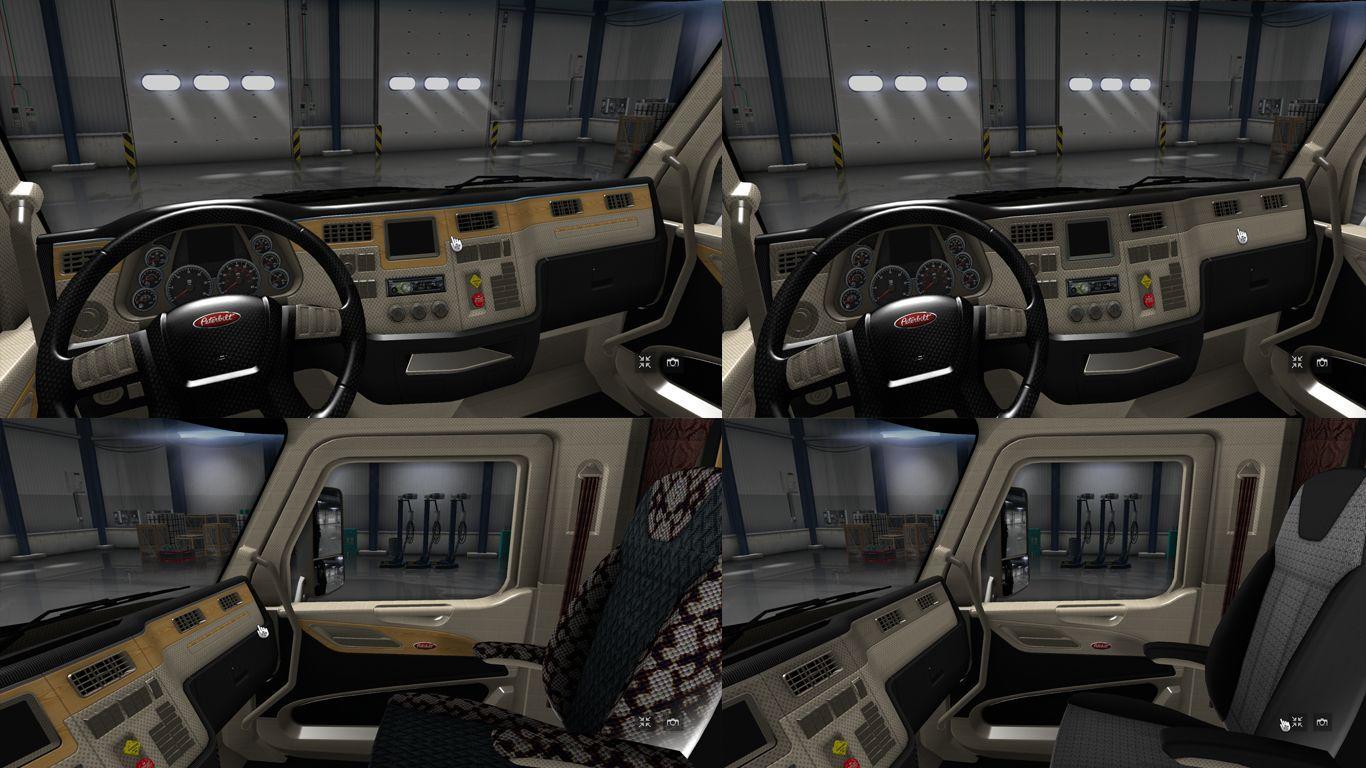 Peterbilt 579 Interior