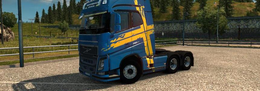 Volvo FH 2012 Perfomance Edition Skin