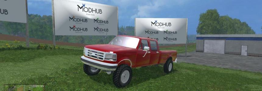 1992 Ford F250 crew cab long box gas v1.0