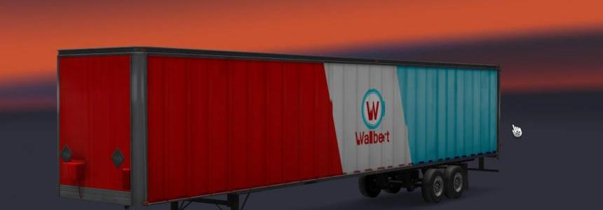ATS Trailers For ETS2 1.22