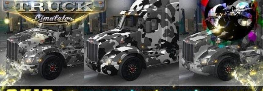 Your Mimetic Colors Skin for Kenworth and Peterbilt v1
