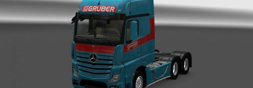 Mercedes Actros MP4 Gruber Skin