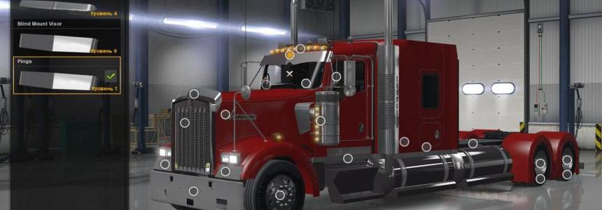 Kenworth W900 v1.3 Edit Pinga