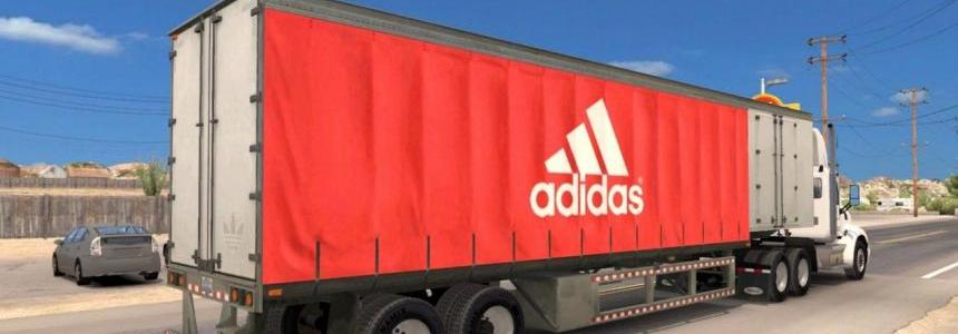 Adidas standalone curtain trailer