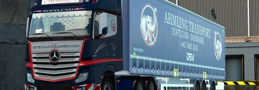 Ahmling Transport Vtc Skin For Mercedes