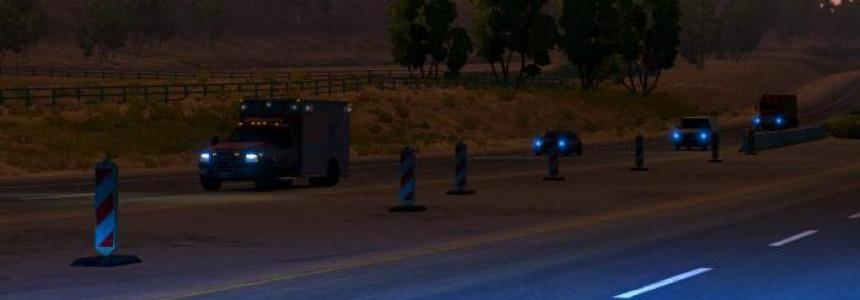 American Truck Simulator Xenon Light v1.0.0