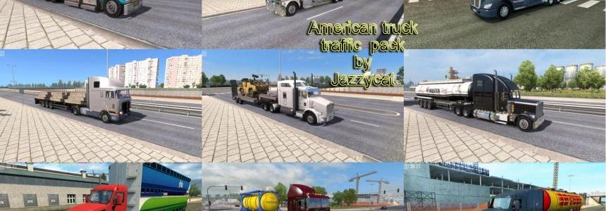 American Truck Traffic Pack by Jazzycat v1.1