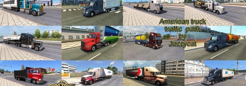 American Truck Traffic Pack by Jazzycat  v1.2
