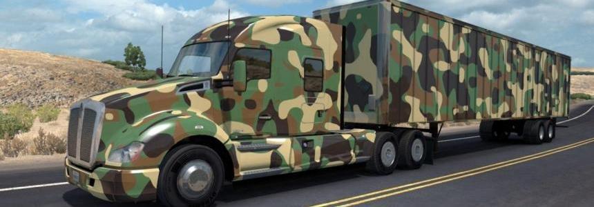 Army Trailer + Skin