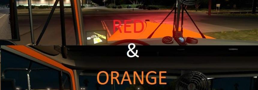 ATS 28 Trucks Xenon Red & Orange Pack v4.0