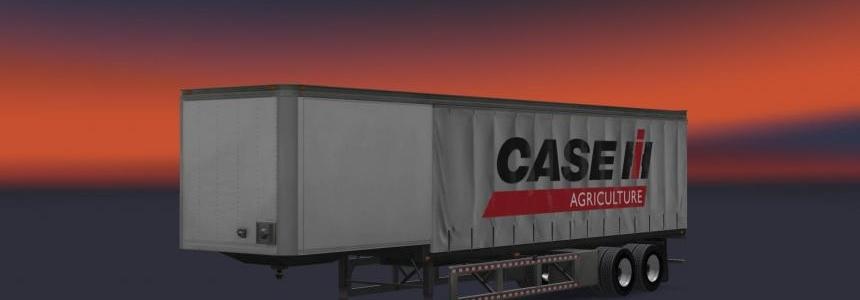 Case IH Curtain Trailer