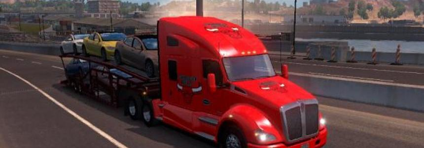 Chicago Bulls Skin Kenworth T680
