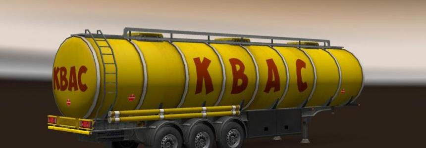 Cistern Trailers Pack 1.22