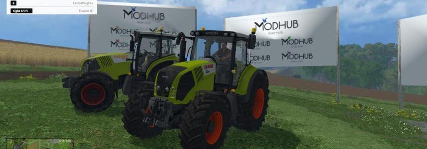 Claas Axion 830FL and 850 v1.0