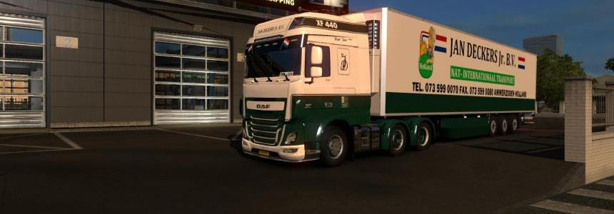 DAF E6 & Trailer - Jan Deckers Transport