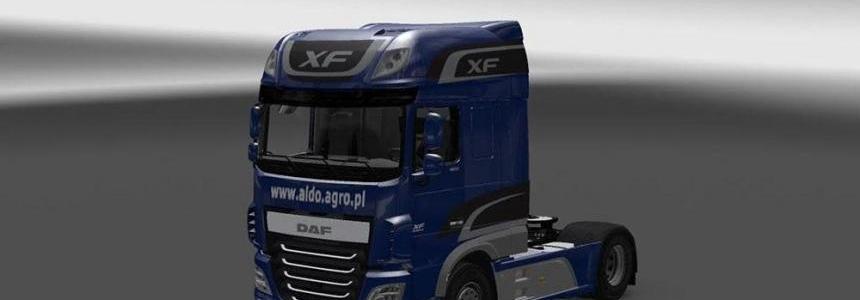 DAF XF 116 Mega Mod v1