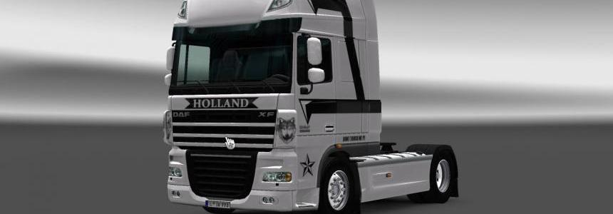 DAF XF by 50keda Holland Skin