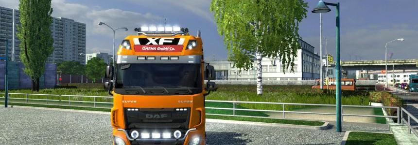 DAF XF E6 from ohaha v1.49