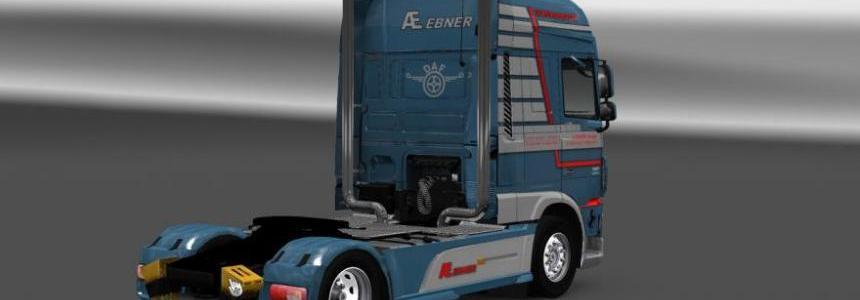 DAF XF Euro 6 AE Ebner Transport Skin