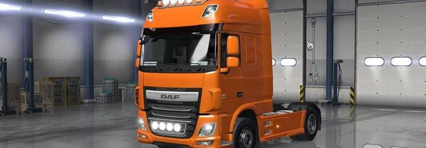 DAF XF Euro 6 with all Cabins & Accessories