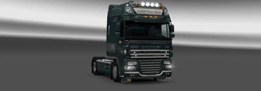 DQF Flower Shuttle Skin For DAF SSC 50K 1.22