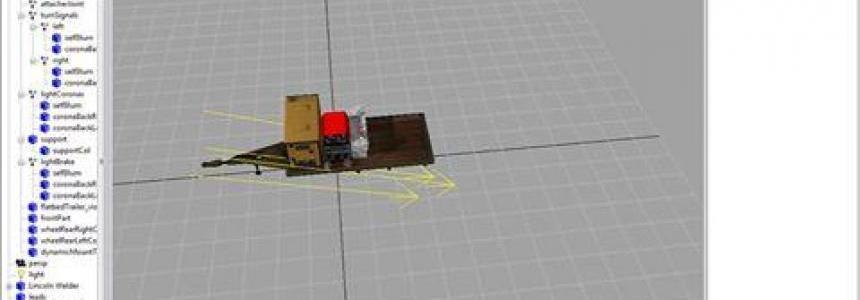 Flatbed Trailer weld v1.0