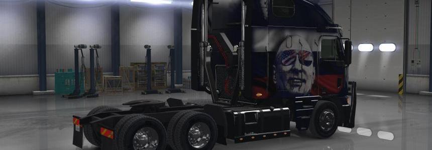 Freightliner Agrossy Putin for Agrossy Skin
