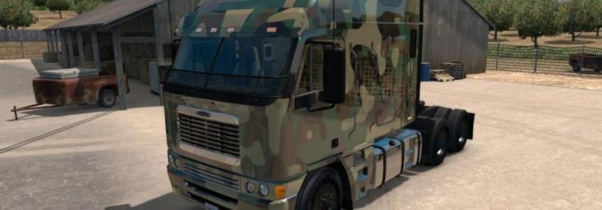 Freightliner Argosy Army skin