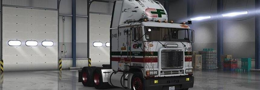 Freightliner FLB Consolidated Frightways Paintjob
