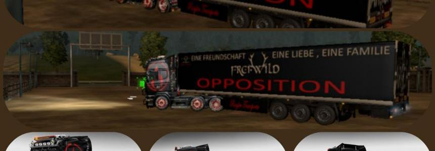 Freiwild TourTruck 2015 v1.0 + Trailer